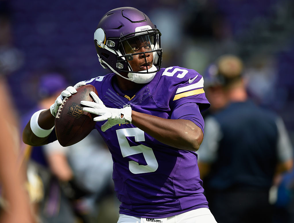 Teddy Bridgewater é quarterback do Minnesota Vikings