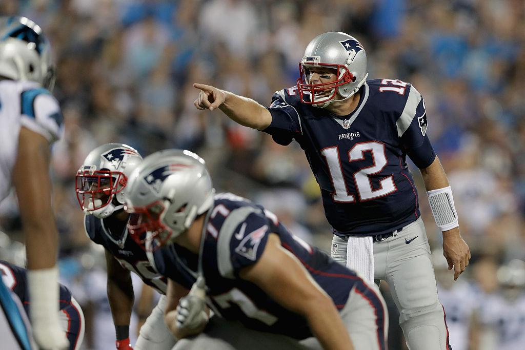 Tom Brady jogou primeira partida na pré-temporada da NFL 2016