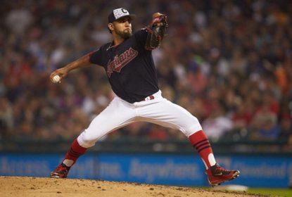 Danny Salazar lesiona antebraço e fica de fora por quatro semanas nos Indians - The Playoffs
