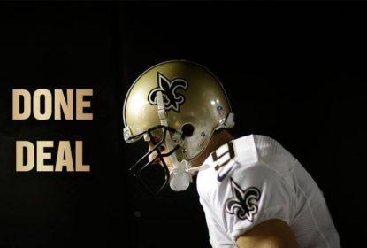 Drew Brees renova contrato com os Saints - The Playoffs