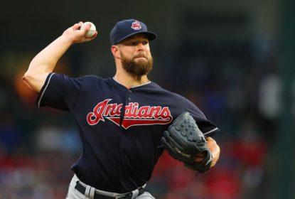 Ressonância magnética revela lesão na coxa, e Corey Kluber fica fora por 7 dias nos Indians - The Playoffs