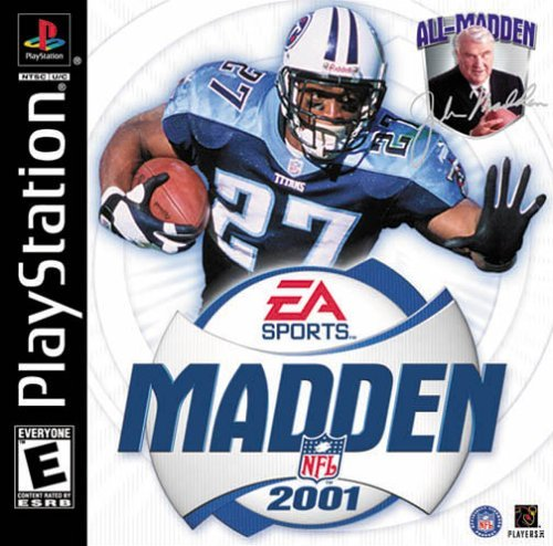 Madden cover 2001