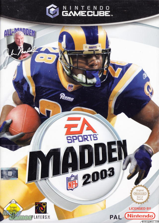 Madden Cover 2003