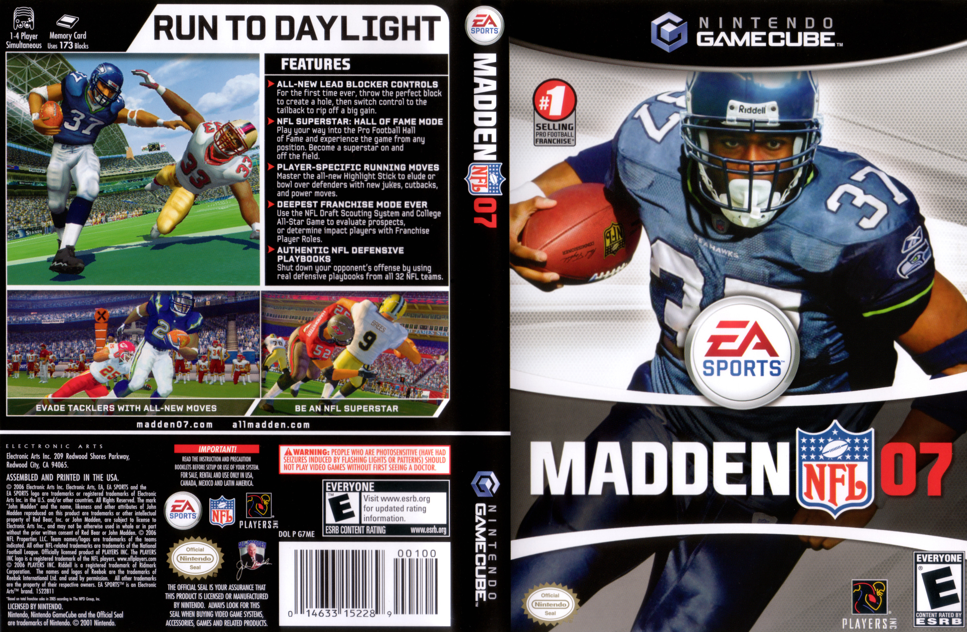 Madden Cover 2007