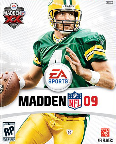 Madden Cover 2009