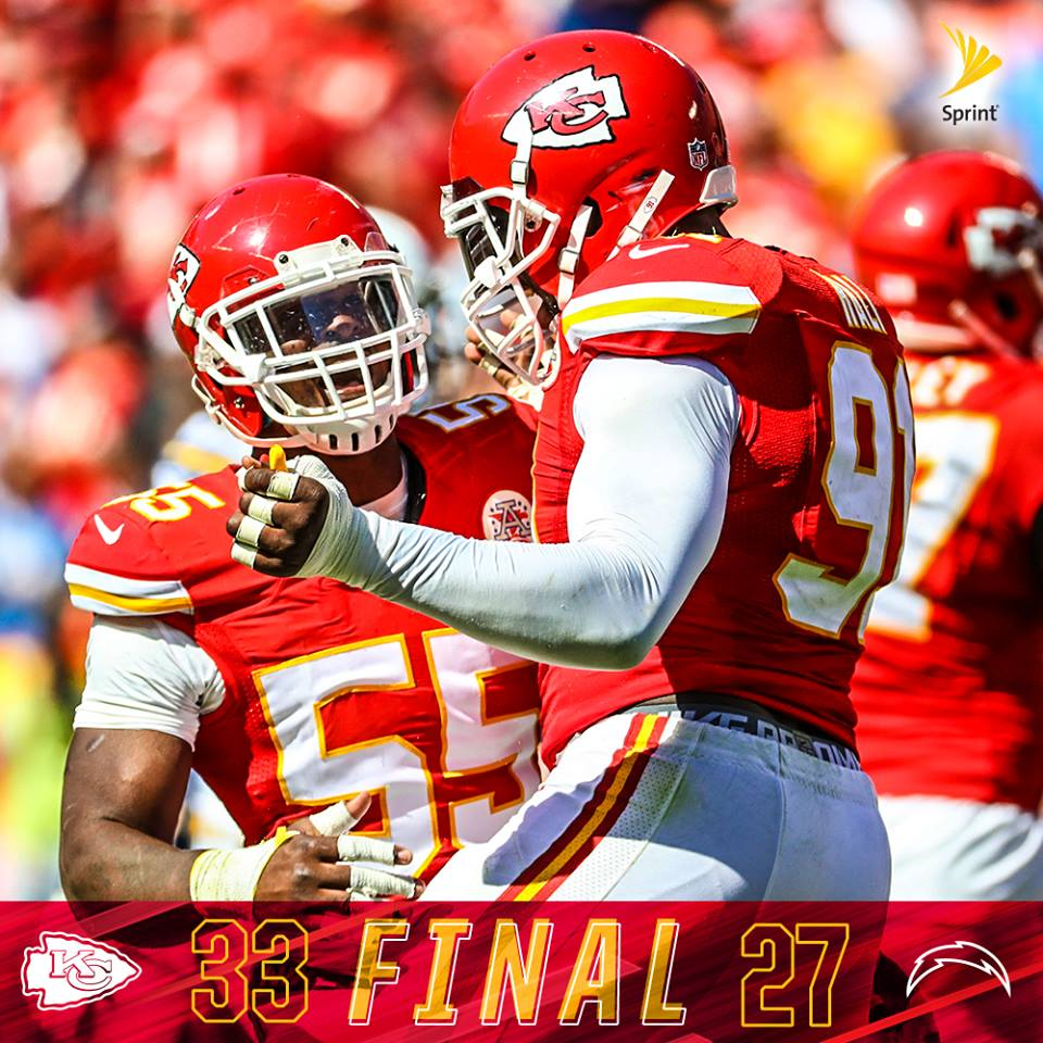 San Diego Chargers Chiefs: Em Virada Espetacular, Chiefs Vencem Chargers
