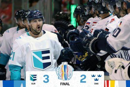 Time Europa vence Suécia no tempo extra e pega Canadá na final da WCH 2016 - The Playoffs