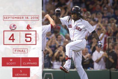 Com dois Home Runs de Hanley Ramirez, Red Sox varrem série em cima dos Yankees - The Playoffs