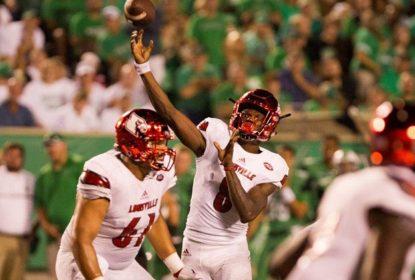 Lamar Jackson apronta mais uma e Louisville vence - The Playoffs
