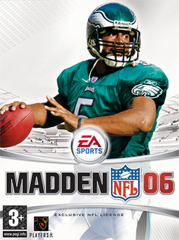 Madden Cover 2006