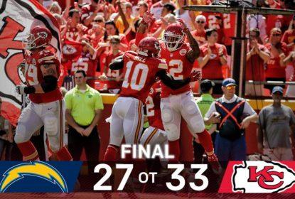 Chiefs vencem Chargers em virada espetacular no Arrowhead Stadium - The Playoffs