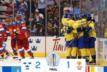 Suécia vence Rússia por 2-1 pelo segundo dia da Copa do Mundo de Hóquei 2016 - The Playoffs