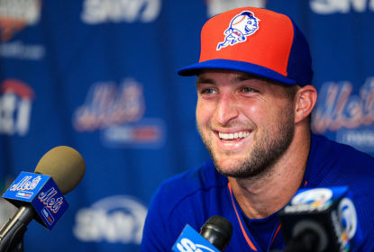 Tim Tebow tenta sorte no beisebol pelo New York Mets