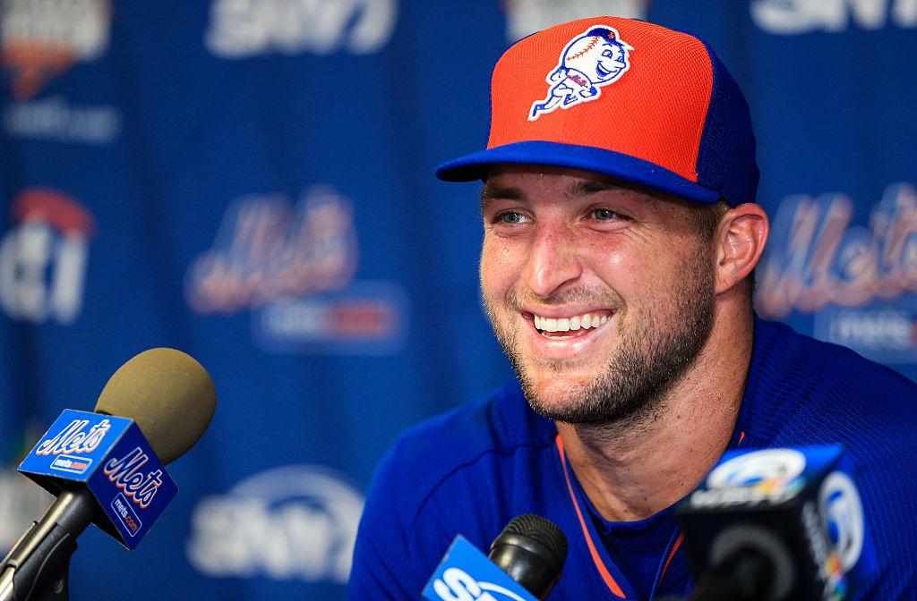 Tim Tebow tenta sorte no beisebol pelo New York Mets