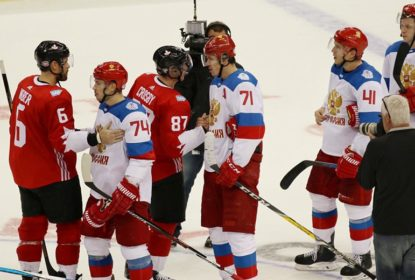 Canadá derrota Rússia em overtime por 3-2 pelos amistosos da Copa do Mundo de Hóquei 2016 - The Playoffs