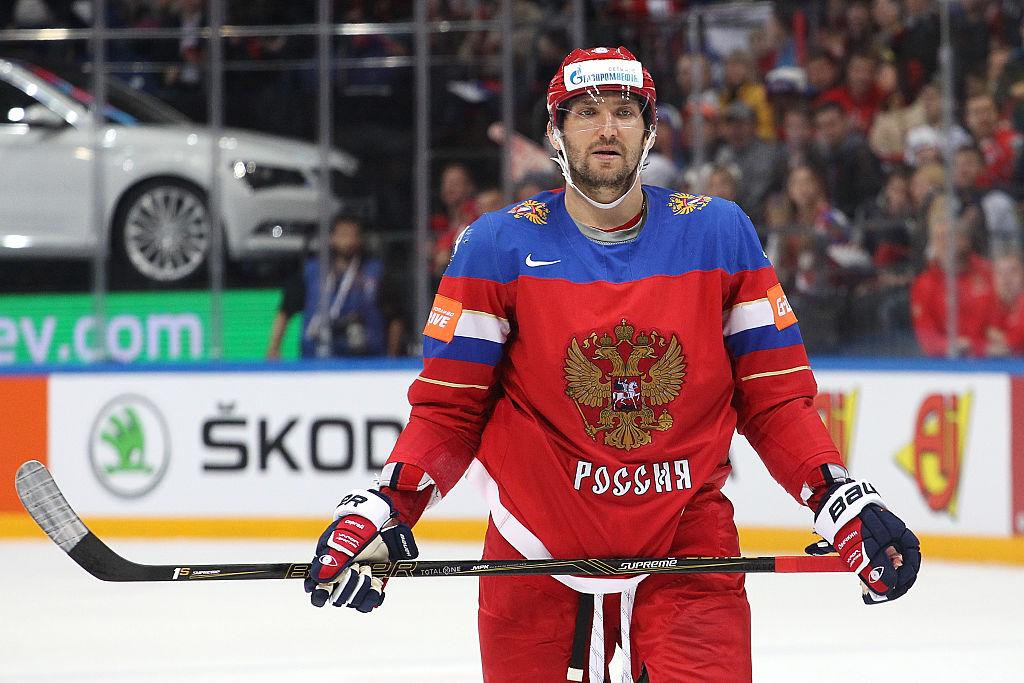 Alex Ovechkin será capitão da Rússia na Copa do Mundo de Hóquei
