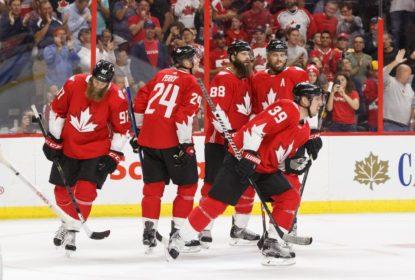 Canadá vinga derrota do dia anterior e bate Estados Unidos antes da Copa de Hóquei - The Playoffs