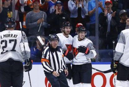 Time Norte-Americano bate o time Europa em amistoso - The Playoffs