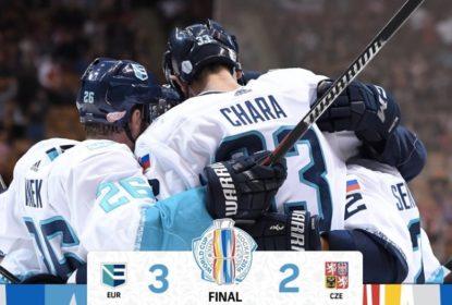 Time Europa bate a República Tcheca na prorrogação e complica EUA - The Playoffs
