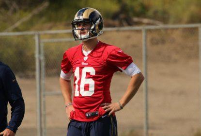 """""""Goff não é a reposta para o ataque dos Rams"""", afirma Fisher - The Playoffs"""
