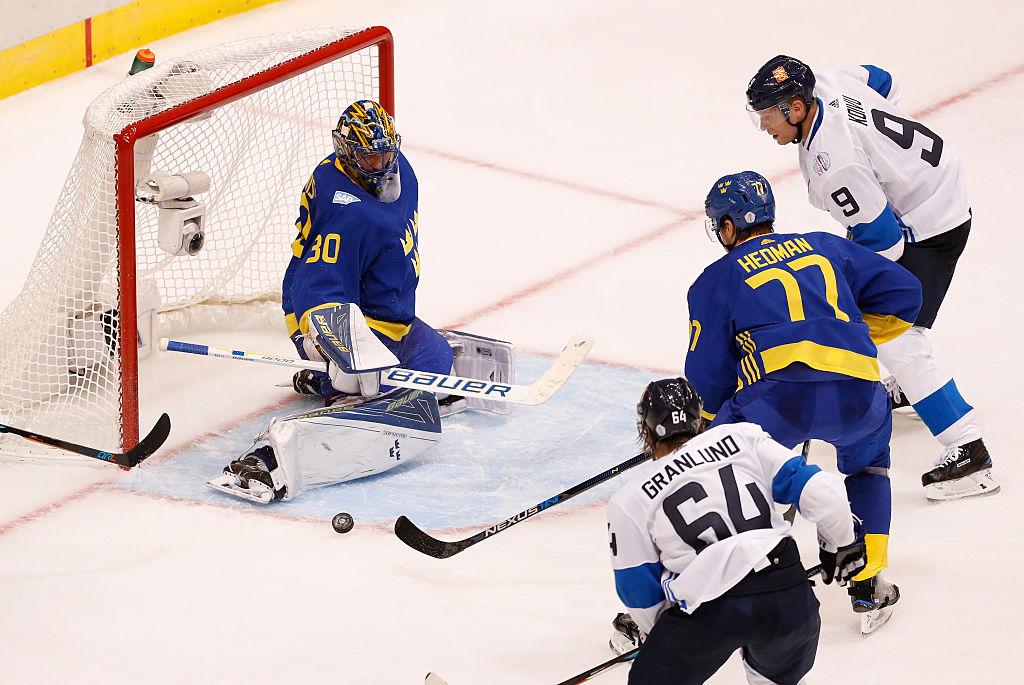 Henrik Lundqvist foi nome da vitória da Suécia contra Finlândia