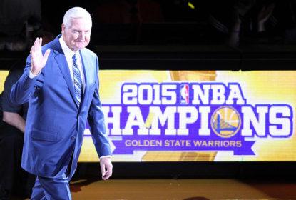 Jerry West não gostou de comentários de Adam Silver sobre o novo Warriors - The Playoffs