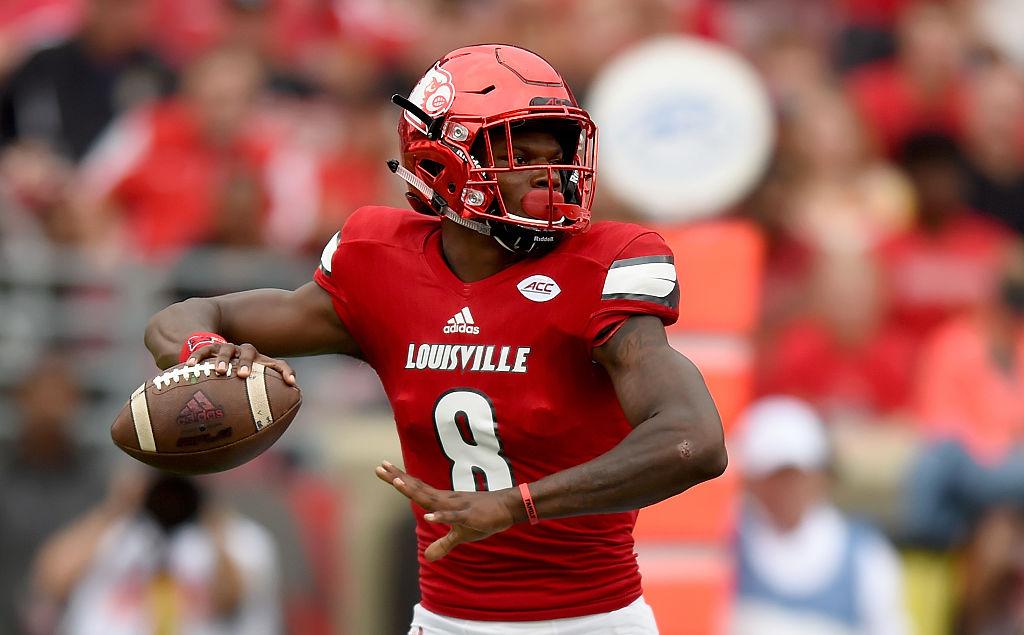 Lamar Jackson vem se destacando em Louisville