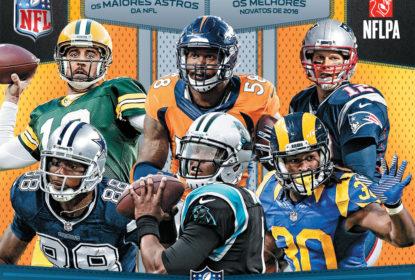 Panini Brasil divulga data de lançamento do álbum da NFL 2016 - The Playoffs