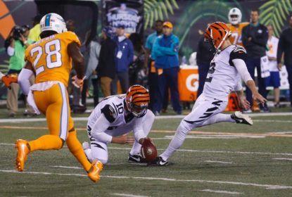 Cincinnati Bengals aproveita boa mira de kicker e vence Miami Dolphins - The Playoffs