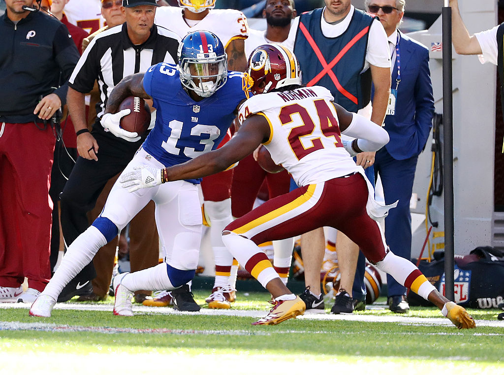 Redskins venceram os Giants por 29 a 27