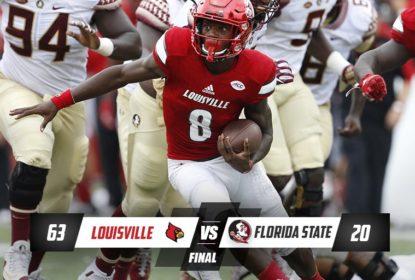 Lamar Jackson comanda mais uma vitória de Louisville - The Playoffs