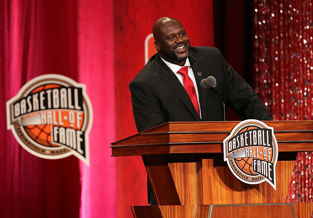 Shaquille O'Neal é introduzido no Hall da Fama do Basquete