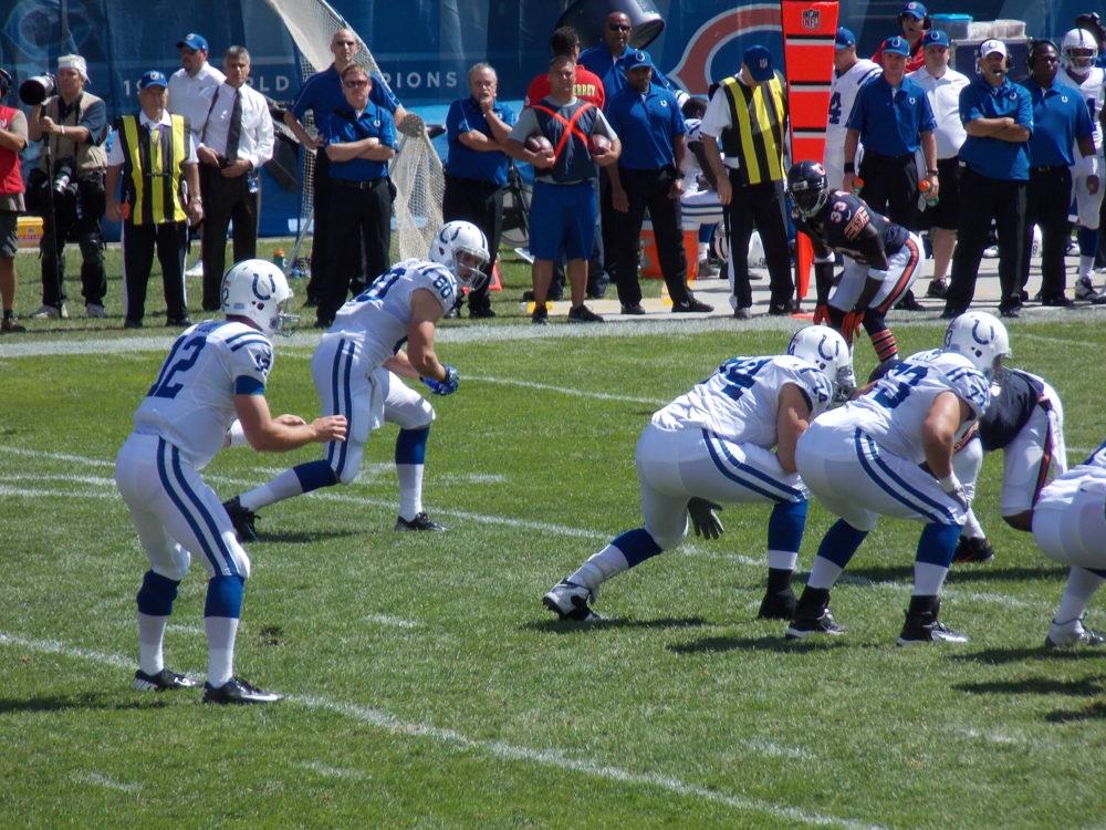 Colts e Bears pela NFL