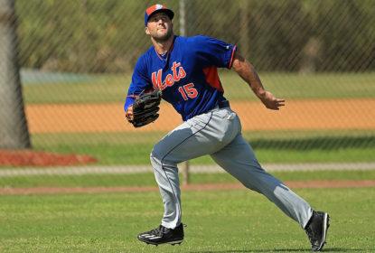 Tim Tebow faz primeiro treino no New York Mets