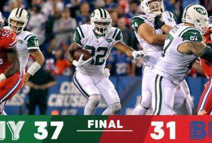 Em noite de Matt Forte, Jets passam pelos Bills no primeiro TNF da temporada - The Playoffs