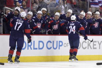 EUA vence Finlândia em amistoso antes da Copa do Mundo de Hóquei - The Playoffs