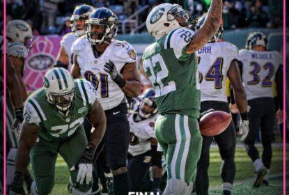 Fitzpatrick sai do banco e comanda virada dos Jets sobre os Ravens - The Playoffs