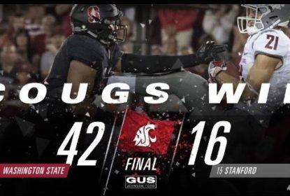 Jogando em casa, Stanford perde para Washington State e acumula segunda derrota seguida - The Playoffs