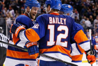 Na prorrogação, Islanders vencem a primeira na temporada da NHL - The Playoffs