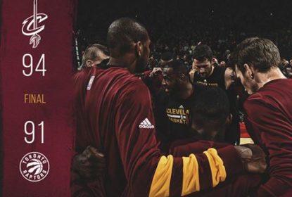Big 3 pontua bem e Cavaliers vencem Raptors no Canadá - The Playoffs