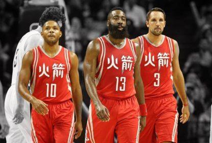Em partida apertada, trio dos Rockets garante vitória diante dos Pelicans na China - The Playoffs
