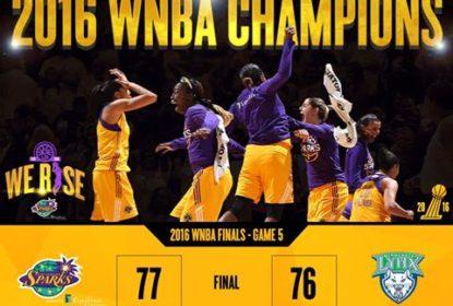 Los Angeles Sparks vence jogo 5 e conquista título da WNBA - The Playoffs
