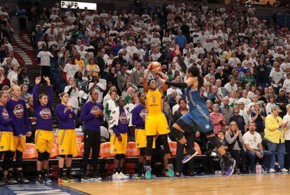 Los Angeles Sparks vence Minnesota Lynx fora de casa e sai na frente nas Finais da WNBA - The Playoffs