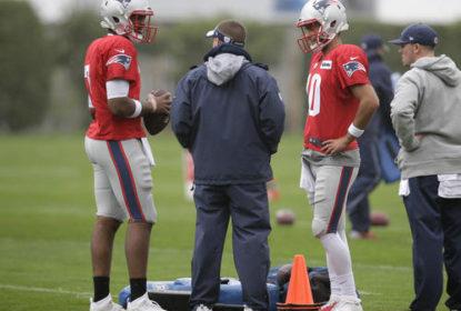 Patriots colocam quarterbacks em lista de questionável contra os Bills - The Playoffs