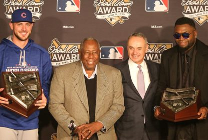 Kris Bryant e David Ortiz levam o Hank Aaron Award de 2016 - The Playoffs