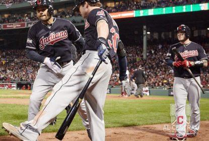 Indians sobrevivem a final tenso e varrem os Red Sox - The Playoffs