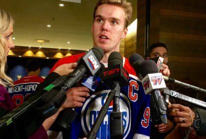 Connor McDavid se torna capitão mais novo da história dos Oilers e da NHL - The Playoffs