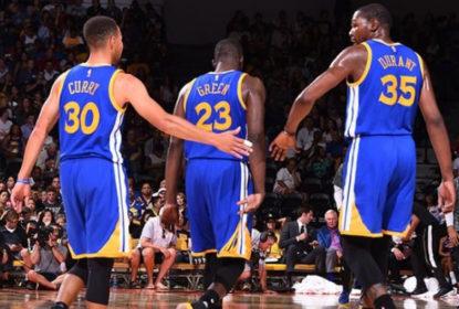 Golden State Warriors vence Lakers fora de casa com 59 pontos de Curry e Durant - The Playoffs