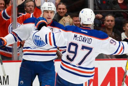 Edmonton Oilers vence Vancouver Canucks em shutout de Cam Talbot - The Playoffs
