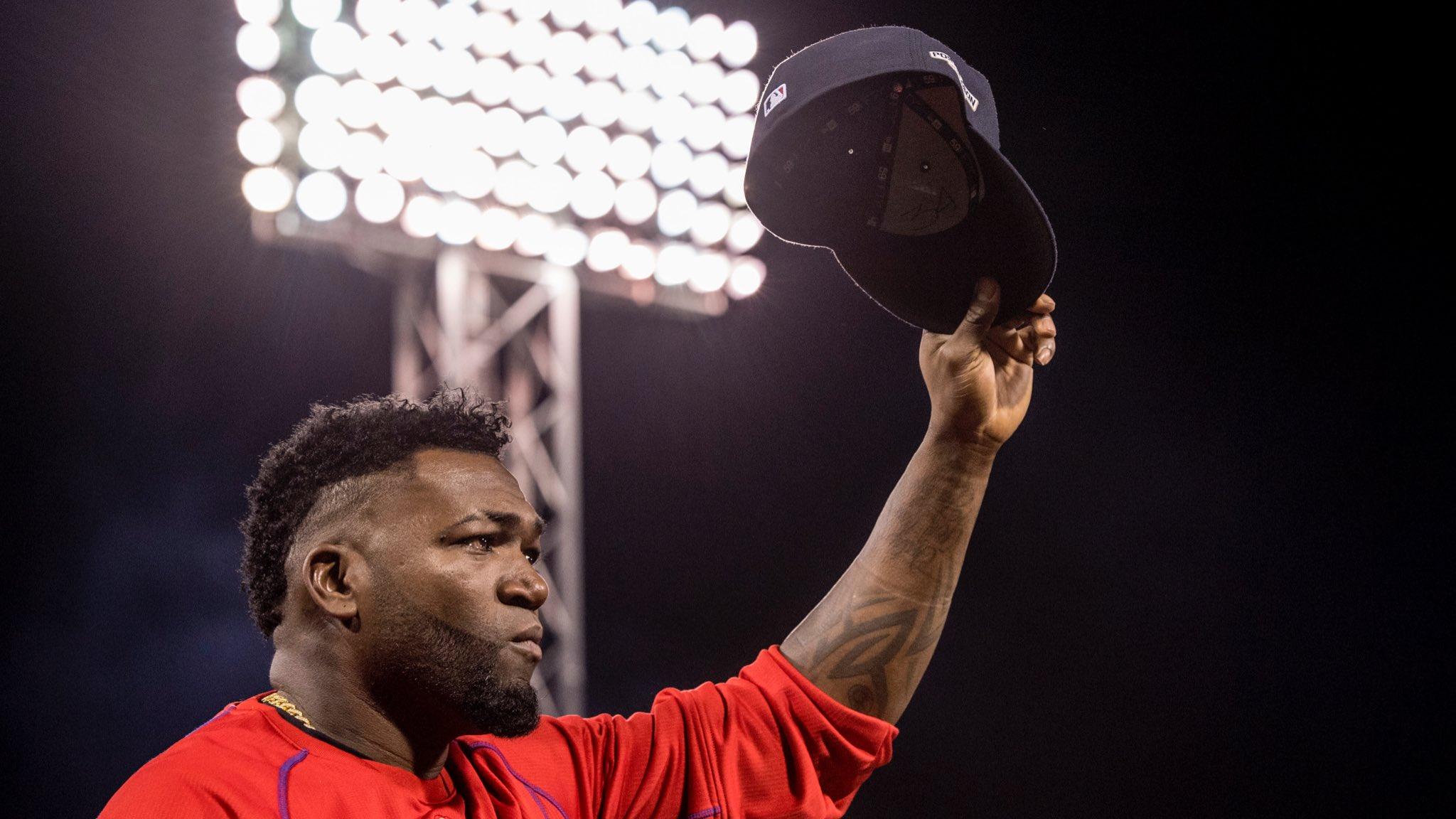 David Ortiz se despede do Boston Red Sox